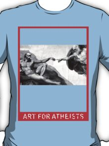 Art for Atheists: Darwin#1 T-Shirt