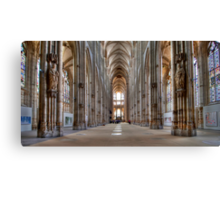 Church of St. Ouen - Internal View Canvas Print