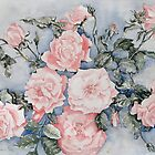 Pink Roses by Marie Theron