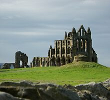 Whitby Abbey, North Yorkshire Coast by Jervaulx