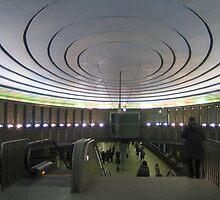 """Metro station """"Plac Wilsona"""" - Warsaw, Poland by Lukasz Godlewski"""
