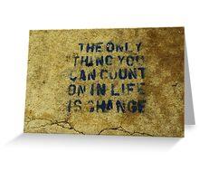 Concrete Wisdom Greeting Card
