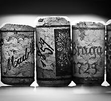 Line Of Corks by ameliakayphotog