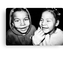 Toothless Smiles Canvas Print