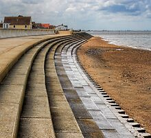 North Beach, Heacham, Norfolk by John Edwards