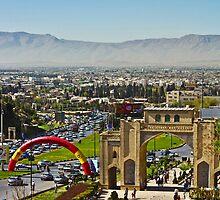 Shiraz Lay Before Me - Iran by Bryan Freeman