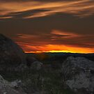 Wiradjuri Country Sunset by bazcelt