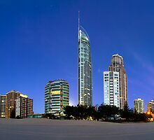 Early morning at Surfers Paradise by Anthony Benger