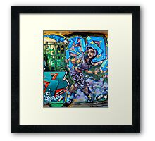 I Can't See Out My Window! Framed Print