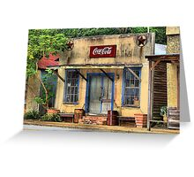 Town in Facade Greeting Card