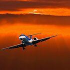Incoming Plane by imagic
