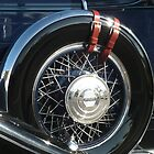 """Pierce Blue - $12,000 Tire"" by Tim&Paria Sauls"
