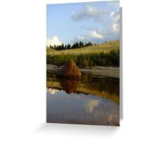 Wazee Lake Stone Collection Greeting Card