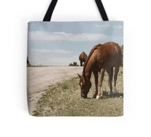 Grazing On The Prairie Tote Bag