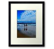 COULD NOT ASK FOR MORE Framed Print