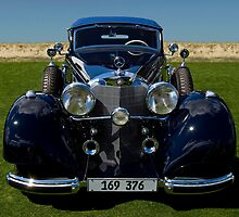 1937 Mercedes-Benz 540K Cabriolet A by Timothy Meissen