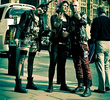 Punks on Parade:-) by DonDavisUK