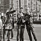 Punk Rockers in London, UK. by DonDavisUK