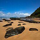 Forresters Beach Star Trail by Matt  Lauder