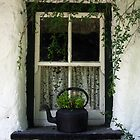 Cottage Window: Bunratty, Ireland by Ruth Durose