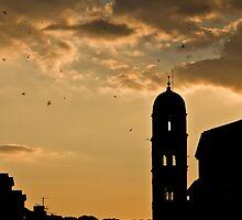 Dubrovnik sunset by Mark  Dodds