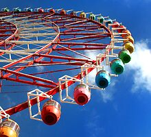 Ferris Wheel by Paula Bielnicka