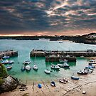Cornwall - New Quay  by Michael Breitung