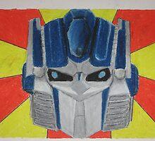 I am Optimus Prime by VickyJaywalk