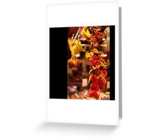 FRESH III Greeting Card