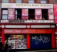 Rambo's Tattoo Parlour, Manchester by Clive Gross