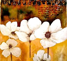 The Poppy Journals...The Five in White by ©Janis Zroback