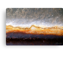 Barren Blizzard Canvas Print