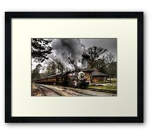 The Texas State Railroad Framed Print