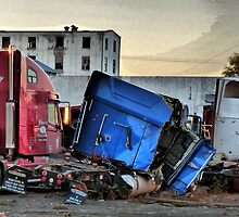 Truck Grave Yard - HDR by AshleenCook