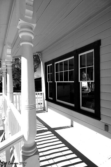 Front porch by Cat Connor