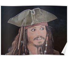 Johnny Depp as Jack. Poster