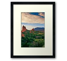 Overlooking Paradise Framed Print