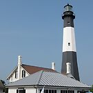 Tybee Island Lighthouse 4 by Christopher Clark