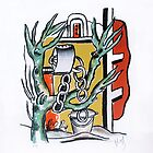 Le Puits (The Well), 1951 by Fernand Leger by masterworks