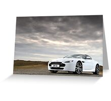 The New Aston Martin N420 Road Racer .... Greeting Card