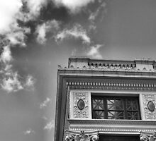 Oklahoman & Times Building Detail, Oklahoma City by Crystal Clyburn