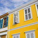 Valparaiso windows by marcelo de la torre