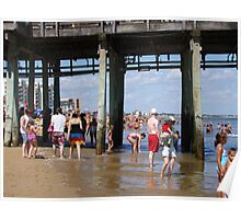Old Orchard Beach, north side Poster