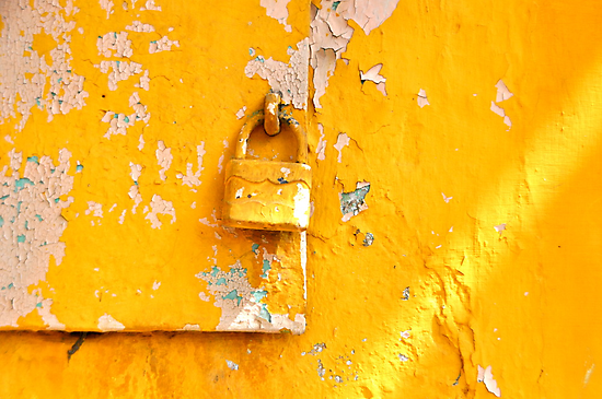 Locked on Yellow by Valerie Rosen