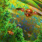 Mandelbrot Trees by Elaine Bawden