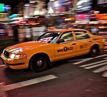 nyc taxi by stephotography