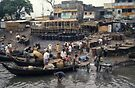 Activity at the Buriganga by Werner Padarin