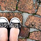Animal print on the bricks by fourthangel
