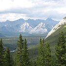 Banff view by Tina K