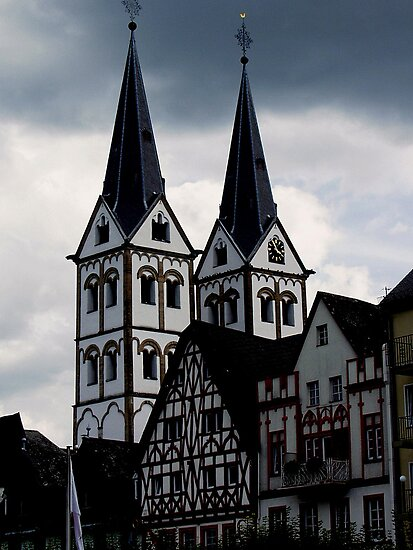 Ein Ratthaus am Rhein in Westfalen FDR. by Andrew  Bailey